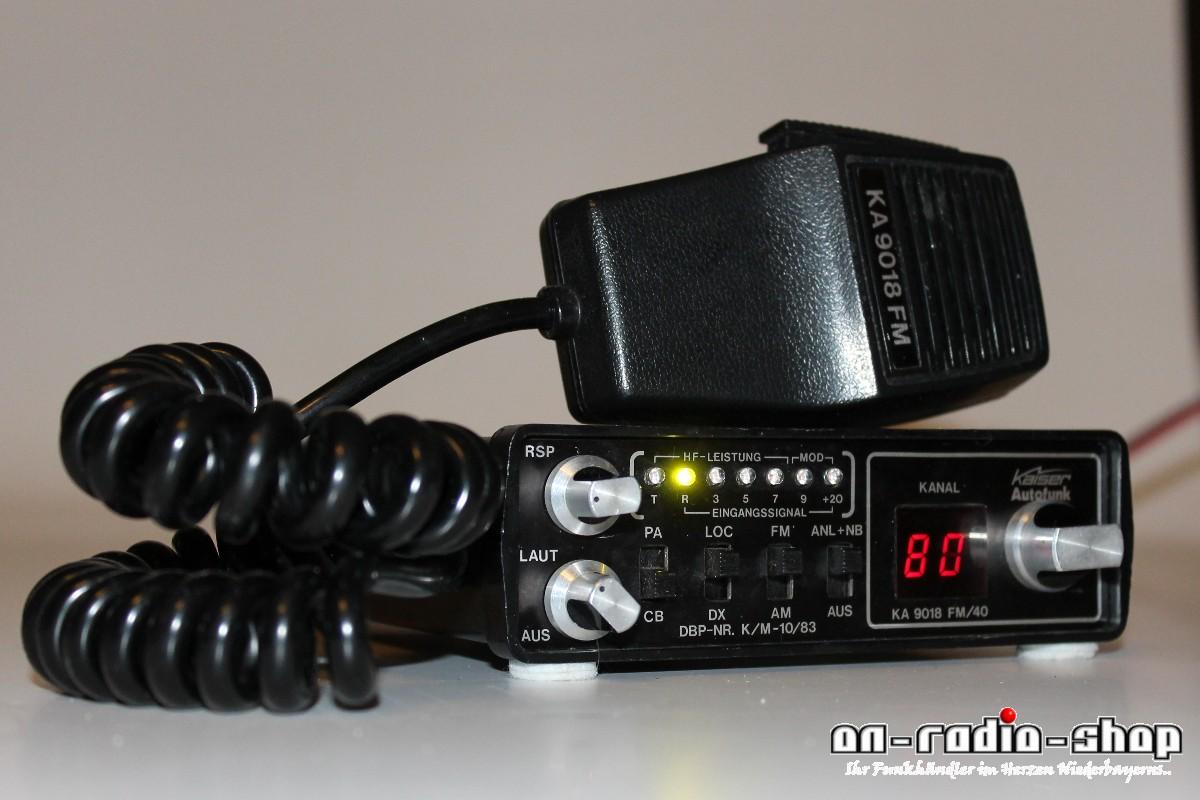 Kaiser KA 9018FM mit 80FM/ AM, clear LED