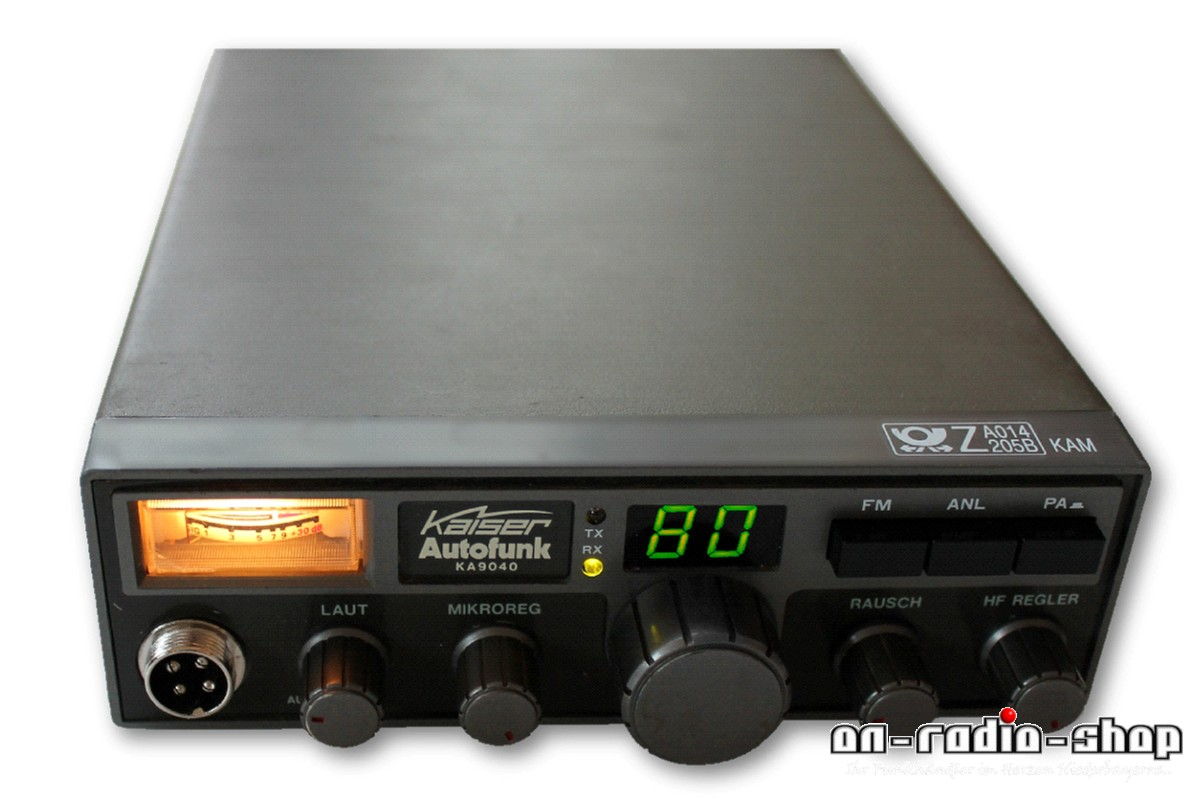 Kaiser KA 9040 // 80 Kanal FM/ AM