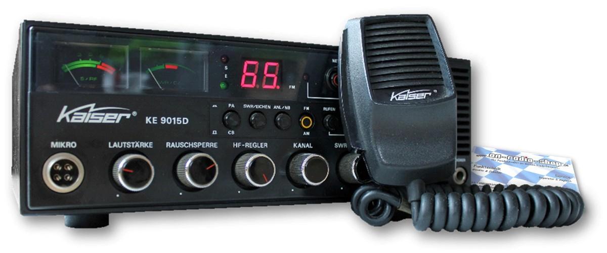 Kaiser KE 9015D mit 80FM/ AM, SCAN Funktion