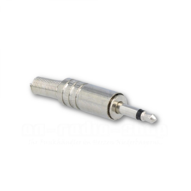 3.5 mm Klinkenstecker, mono