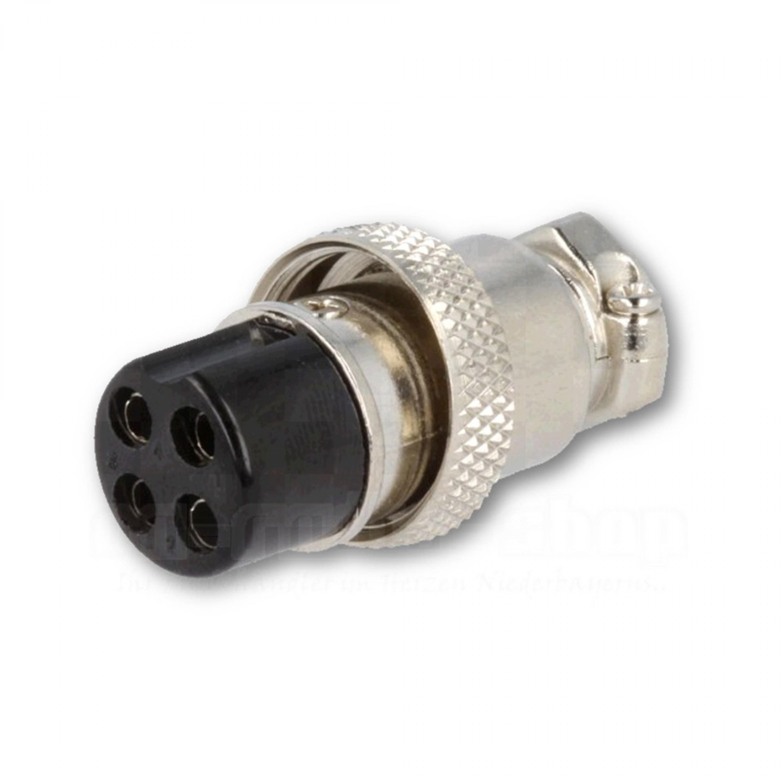 4-poliger Mikrofonstecker