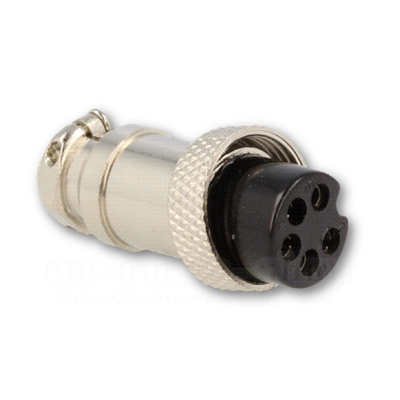 5-poliger Mikrofonstecker