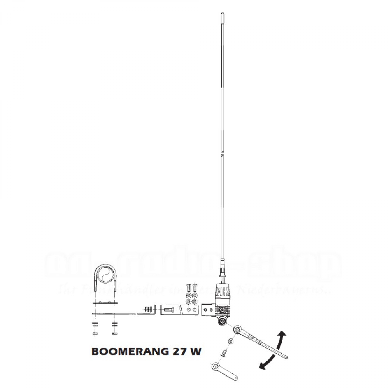 Sirio New Boomerang 27W