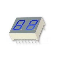 2-Stellig, Ziffernhöhe 10 mm, blau