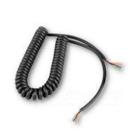 Mikrofonspiralkabel, 6-adrig