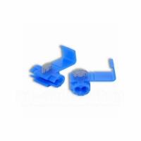 Schnellverbinder, Ausführung blau