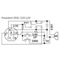 President DNC-520 U/D