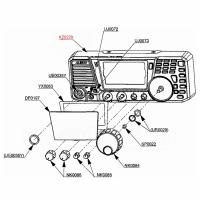 Gehäusefront DX-SR8/DX-SR9
