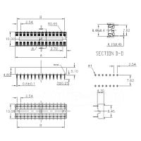 IC-Sockel, 18 PIN