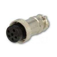 6-poliger Mikrofonstecker